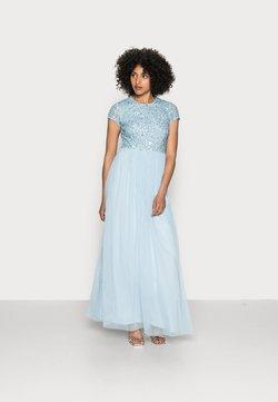 Lace & Beads - PICASSO CAP SLEEVE - Festklänning - powder blue
