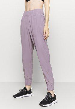Under Armour - GRAPHIC PANTS - Verryttelyhousut - slate purple