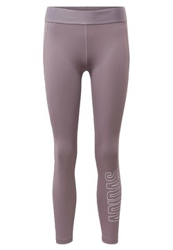 adidas Performance - ALPHASKIN 7/8 LEGGINGS - Tights - purple