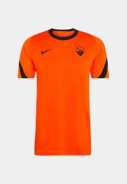 Nike Performance - AS ROM  - Funktionsshirt - safety orange/black