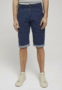 TOM TAILOR - Shorts - sailor blue