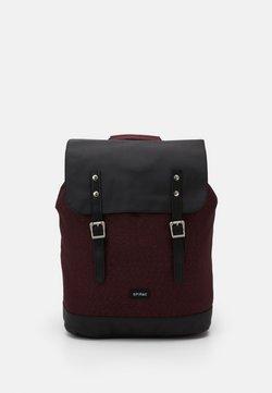 Spiral Bags - CHEVRON UNISEX - Reppu - burgundy