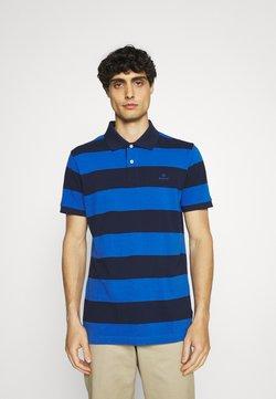 GANT - BARSTRIPE RUGGER - Poloshirt - nautical blue