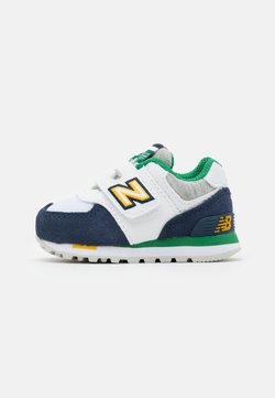 New Balance - IV574NLA UNISEX - Sneakers laag - white/navy