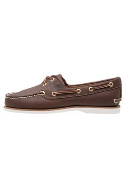 Timberland - Chaussures bateau - dark brown