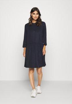Marc O'Polo DENIM - DRESS SHORT SLEEVE - Blusenkleid - scandinavian blue