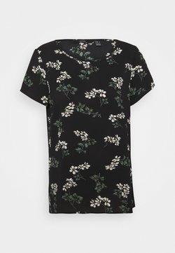 Vero Moda - VMSAGA - T-Shirt print - black/nellie