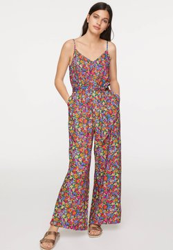 OYSHO - STRAPPY SIXTIES JUMPSUIT 31029114 - Combinaison - multi-coloured