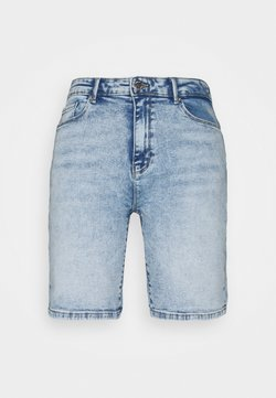 ONLY - ONLPAOLA LIFE - Jeans Shorts - light blue denim