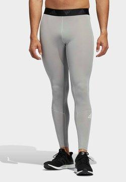 adidas Performance - TECHFIT LANGE  - Tights - grey