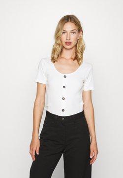 Vero Moda - VMHELSINKI NOOS - T-Shirt print - snow white