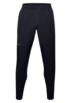 Under Armour - UA FLEX WOVEN TAPERED PANTS - Jogginghose - black