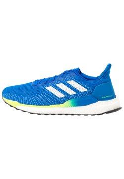 adidas Performance - SOLAR BOOST 19 - Obuwie do biegania treningowe - glow blue/footwear white/signal green