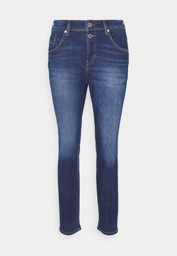 Marc O'Polo - ALBY STRAIGHT - Jeans Relaxed Fit - dark blue wash