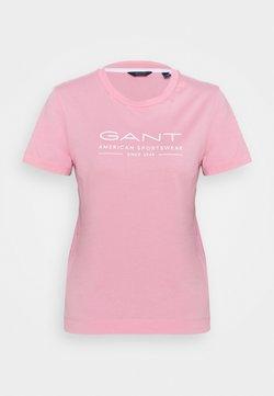 GANT - SUMMER  - Printtipaita - sea pink