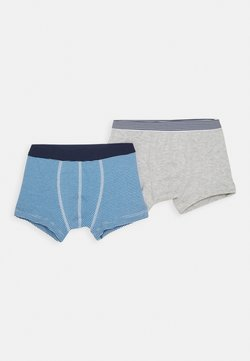 Petit Bateau - BOXERS 2 PACK - Shorty - grey/blue/white