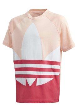 adidas Originals - LARGE TREFOIL T-SHIRT - T-shirt z nadrukiem - pink