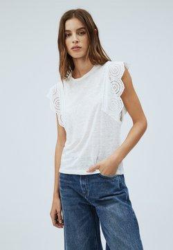 Pepe Jeans - CLARA - Camiseta estampada - off-white