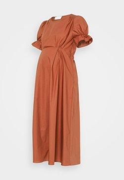IVY & OAK Maternity - ROYO - Vestido largo - rusty red