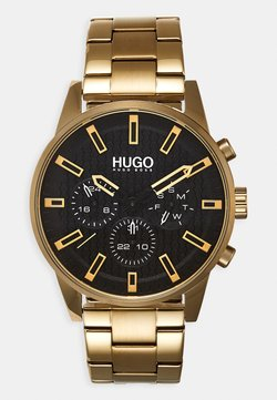 HUGO - #SEEK - Rannekello - gold-coloured
