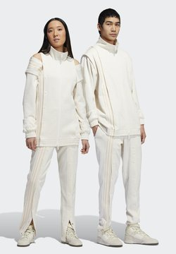 adidas Originals - IVY PARK MONOGRAM TRACK PANTS (ALL GENDER) - Jogginghose - core white