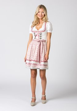 Stockerpoint - Dirndl - creme-flower