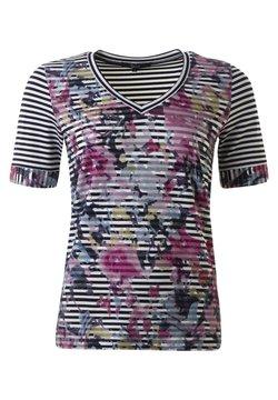 Clarina - T-Shirt print - marine weiss