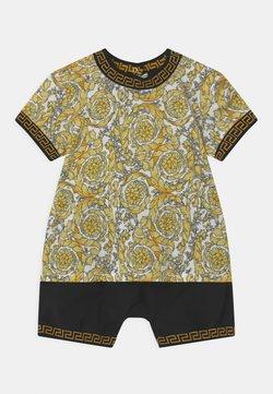 Versace - BAROQUE KIDS GREC SET UNISEX - Camiseta estampada - white/gold/black