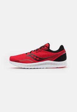 Saucony - KINVARA 11 - Zapatillas de running neutras - red/black