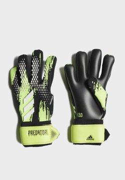 adidas Performance - PREDATOR LEAGUE GOALKEEPER GLOVES - Guantes de portero - green
