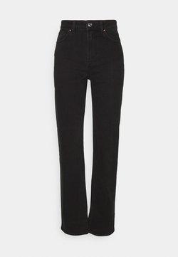 ONLY - ONLMEGAN WIDE - Straight leg -farkut - black denim