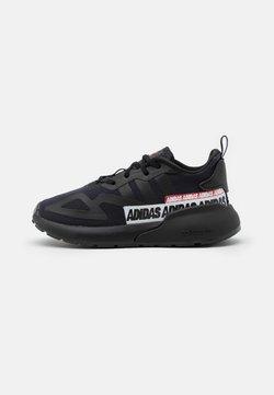 adidas Originals - ZX 2K EL I UNISEX - Sneaker low - core black/footwear white