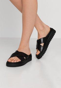 Buffalo - JAVIA - Pantolette flach - black