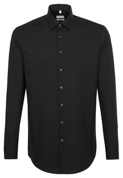 Seidensticker - REGULAR FIT - Businesshemd - black