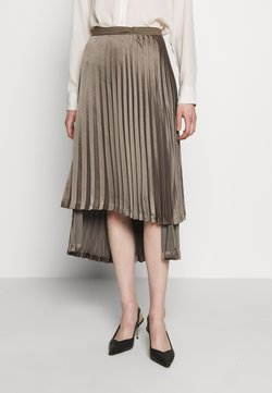 Bec & Bridge - PIPER PLEATED MIDI SKIRT - Jupe trapèze - olive