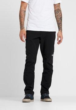 The North Face - DIABLO - Pantalones montañeros largos - black