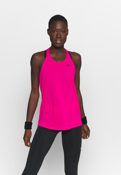 Nike Performance - DRY ELASTIKA TANK - Funktionsshirt - fireberry/black