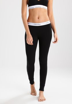 Calvin Klein Underwear - MODERN COTTON - Pyjamasbukse - black