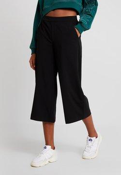 Object - OBJCECILIE CULOTTE PANTS NOOS - Pantaloni - black