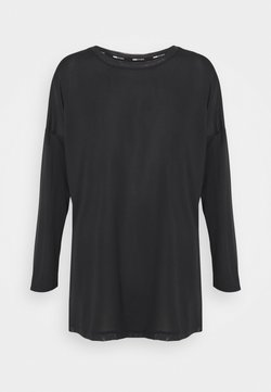 Puma - STUDIO GRAPHENE LONG SLEEVE - Langarmshirt - black