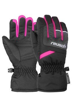 Reusch - BENNET - Fingerhandschuh - blck/blck melang/pink glo
