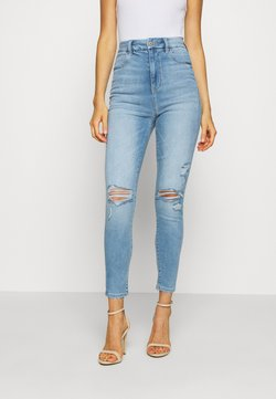 American Eagle - CURVY HIGHEST RISE - Jegging - authentic light