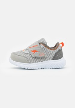KangaROOS - KI-DINKY  - Matalavartiset tennarit - steel grey/neon orange