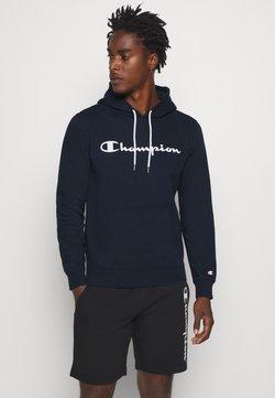 Champion - LEGACY HOODED - Huppari - dark blue