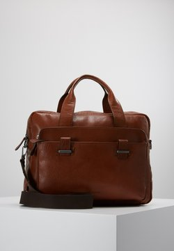 Strellson - SUTTON BRIEFBAG - Notebooktasche - cognac