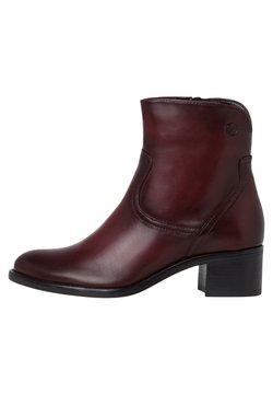 Tamaris - Ankle Boot - bordeaux
