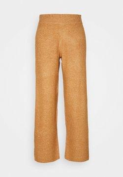 YAS Petite - YASSELLIS PANT ICON - Pantalones - sandstorm melange
