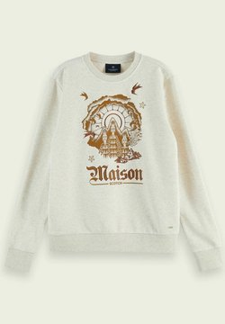 Scotch & Soda - Sweatshirt - ecru melange