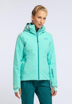 PYUA - BLISTER - Snowboardjas - turquoise