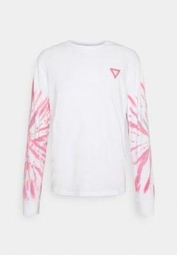 YOURTURN - UNISEX - Langarmshirt - white/pink